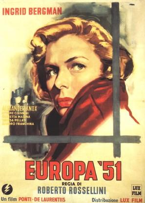 Europa '51 - Italian Movie Poster (thumbnail)