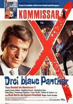 Kommissar X - Drei blaue Panther