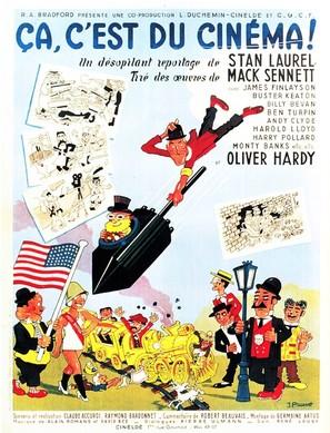 Ça c'est du cinéma - French Movie Poster (thumbnail)