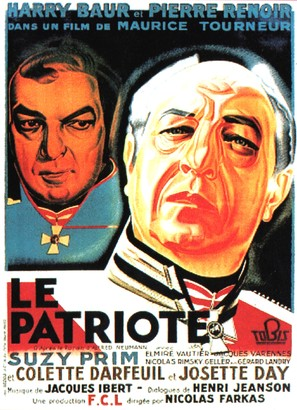 Patriote, Le - French Movie Poster (thumbnail)