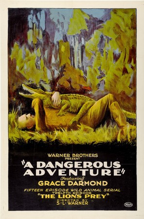 A Dangerous Adventure - Movie Poster (thumbnail)