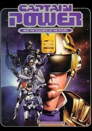 """""""Captain Power and the Soldiers of the Future"""" - DVD movie cover (thumbnail)"""