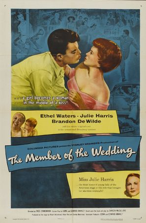 The Member of the Wedding - Theatrical poster (thumbnail)