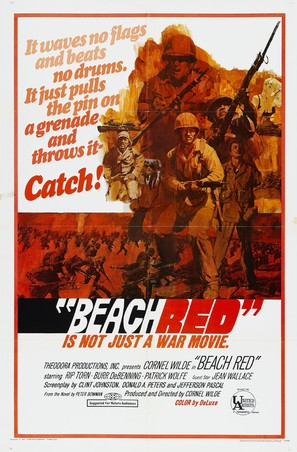 Beach Red - Movie Poster (thumbnail)