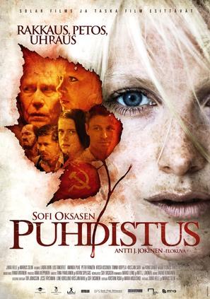 Puhdistus - Finnish Movie Poster (thumbnail)