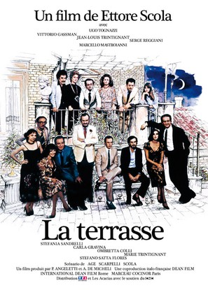 La terrazza - French Movie Poster (thumbnail)
