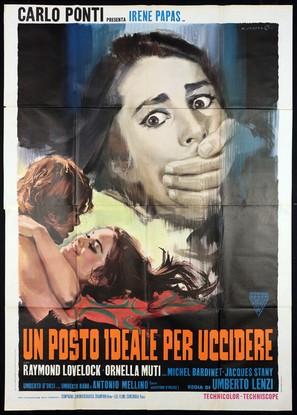 Un posto ideale per uccidere - Italian Movie Poster (thumbnail)