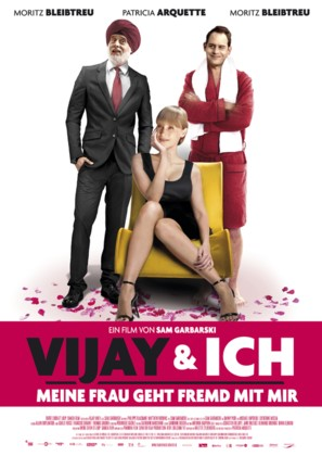 Vijay and I - German Movie Poster (thumbnail)
