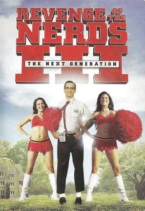 Revenge of the Nerds III: The Next Generation - DVD movie cover (thumbnail)