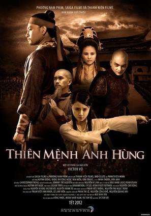 Thien Menh Anh Hung - Vietnamese Movie Poster (thumbnail)