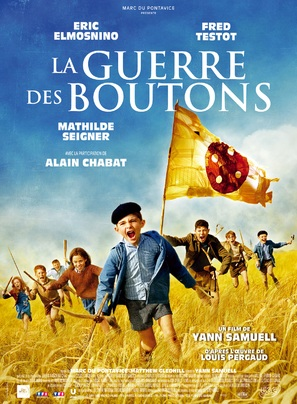 La guerre des boutons - French Movie Poster (thumbnail)