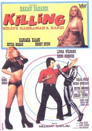 Killing kolsuz kahramana karsi - Turkish Movie Poster (thumbnail)