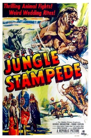 Jungle Stampede - Movie Poster (thumbnail)