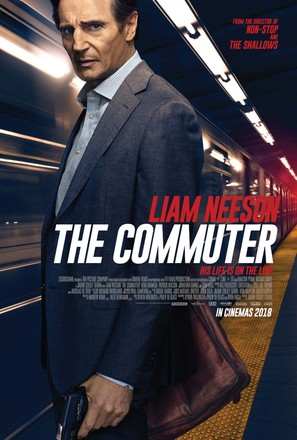 The Commuter - British Movie Poster (thumbnail)