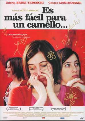 Il est plus facile pour un chameau... - Spanish poster (thumbnail)