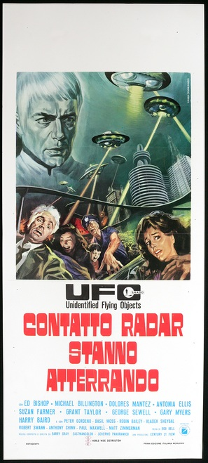 UFO Contatto radar. Stanno atterrando. - Italian Movie Poster (thumbnail)