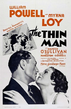 The Thin Man - Re-release movie poster (thumbnail)