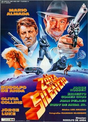 La zona del silencio - Mexican Movie Poster (thumbnail)