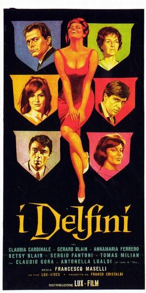 I delfini - Italian Movie Poster (thumbnail)