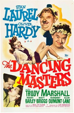 The Dancing Masters - Movie Poster (thumbnail)