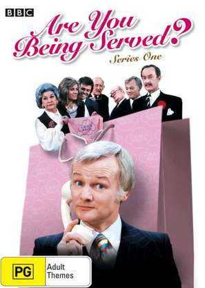 """Are You Being Served?"" - Australian DVD movie cover (thumbnail)"