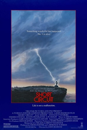 Short Circuit - Theatrical movie poster (thumbnail)