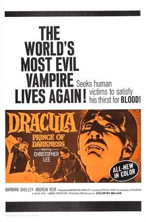 Dracula: Prince of Darkness - Movie Poster (thumbnail)