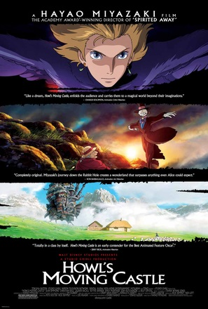 Hauru no ugoku shiro - Movie Poster (thumbnail)