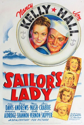 Sailor's Lady - Movie Poster (thumbnail)