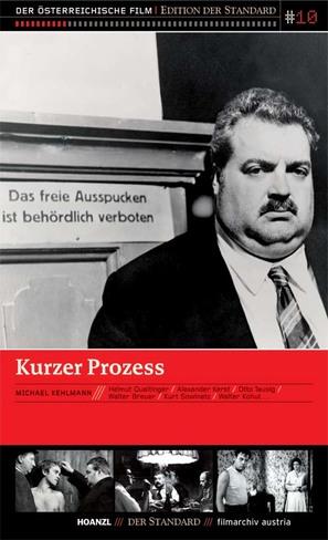 Kurzer Prozeß - Austrian Movie Cover (thumbnail)