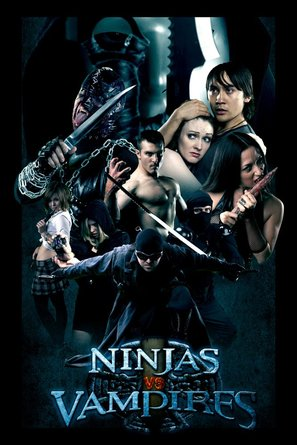 Ninjas vs. Vampires - Movie Poster (thumbnail)
