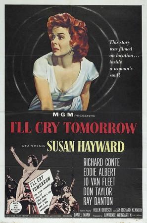 I'll Cry Tomorrow - Movie Poster (thumbnail)