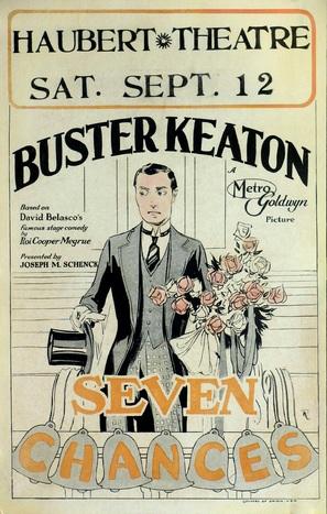 Seven Chances - Movie Poster (thumbnail)