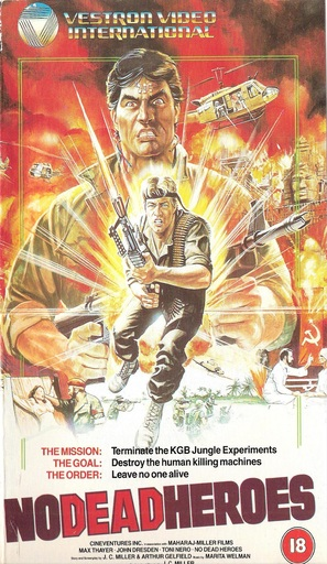 No Dead Heroes - British VHS cover (thumbnail)