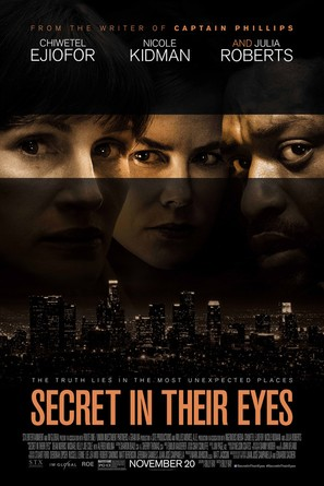 Secret in Their Eyes - Theatrical movie poster (thumbnail)
