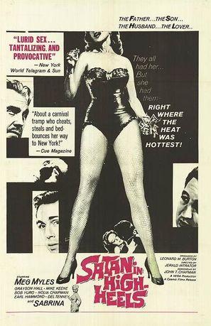 Satan in High Heels - Movie Poster (thumbnail)