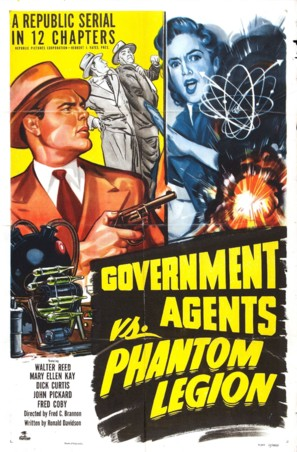 Government Agents vs Phantom Legion - Movie Poster (thumbnail)