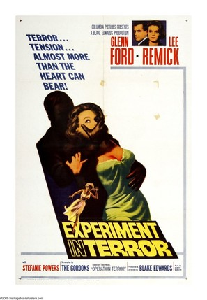 Experiment in Terror - Movie Poster (thumbnail)
