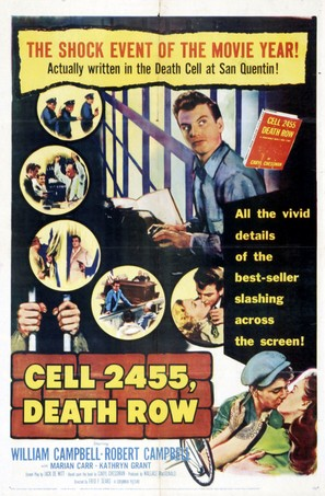 Cell 2455 Death Row - Movie Poster (thumbnail)