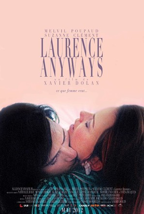 Laurence Anyways - Canadian Movie Poster (thumbnail)