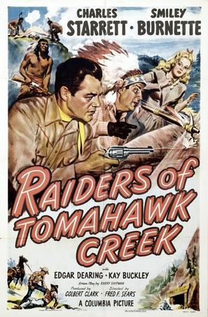 Raiders of Tomahawk Creek - Movie Poster (thumbnail)