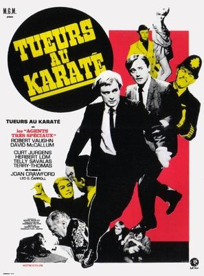 The Karate Killers - French Movie Poster (thumbnail)