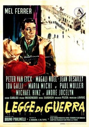Legge di guerra - Italian Movie Poster (thumbnail)