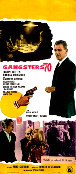 Gangsters '70 - Italian Movie Poster (thumbnail)