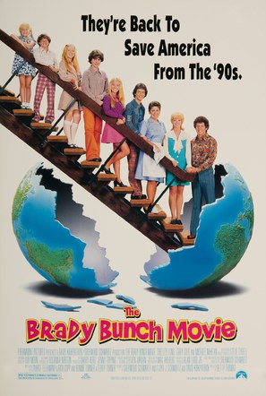 The Brady Bunch Movie - Movie Poster (thumbnail)
