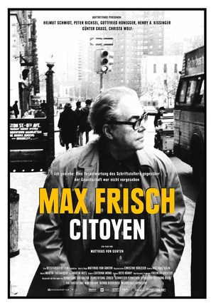 Max Frisch, citoyen - Swiss Movie Poster (thumbnail)