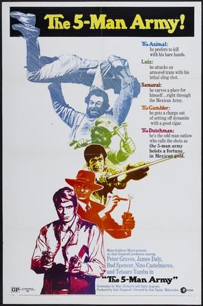 Esercito di cinque uomini, Un - Movie Poster (thumbnail)