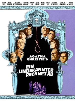 Ein unbekannter rechnet ab - German Movie Poster (thumbnail)