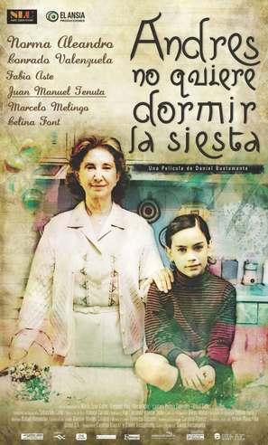 Andrés no quiere dormir la siesta - Argentinian Movie Poster (thumbnail)