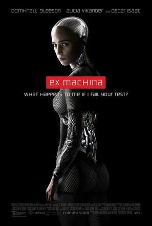 Ex Machina - Movie Poster (thumbnail)